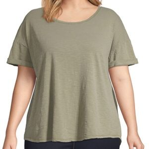 Rolled Sleeve T-Shirt